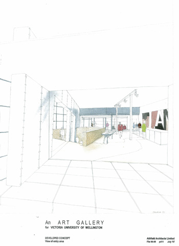 Ian Athfield Architects Adam Art Gallery 2009
