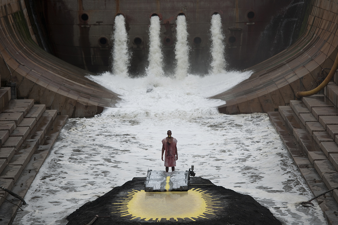 Matthew Barney and Jonathan Bepler, River of Fundament (still), Courtesy of the artists