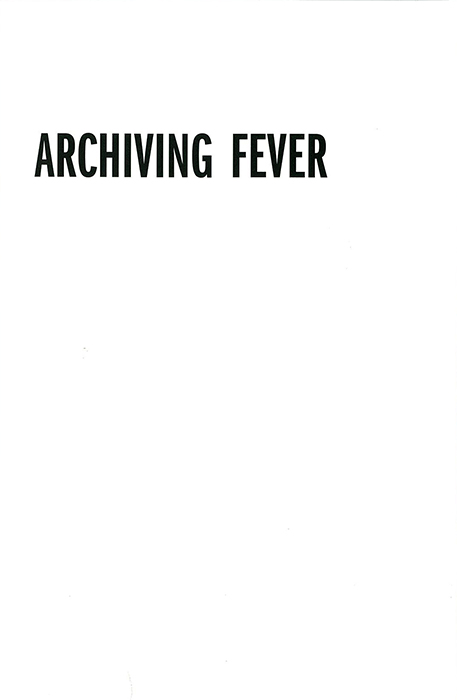 Archiving Fever_resized