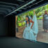 Arthur Jafa, <i>Love is the Message, The Message is Death </i>, 2016, digital video projection, 7:25 mins, colour/sound, courtesy of the artist and Gladstone Gallery. Installation view of <i>Image Processors: Artists in the Medium – A Short History 1968–2020 </i>, Te Pātaka Toi Adam Art Gallery, Te Herenga Waka—Victoria University of Wellington, 2021. Photo by Ted Whitaker.