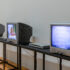 Installation view of <i>Image Processors: Artists in the Medium – A Short History 1968–2020 </i>, Te Pātaka Toi Adam Art Gallery, Te Herenga Waka—Victoria University of Wellington, 2021. Photo by Ted Whitaker.